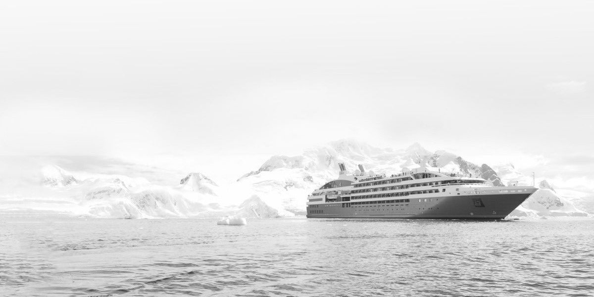 Sail in elegance and luxury through Antarctica on board Le Lyrial with Source Events's gay cruise