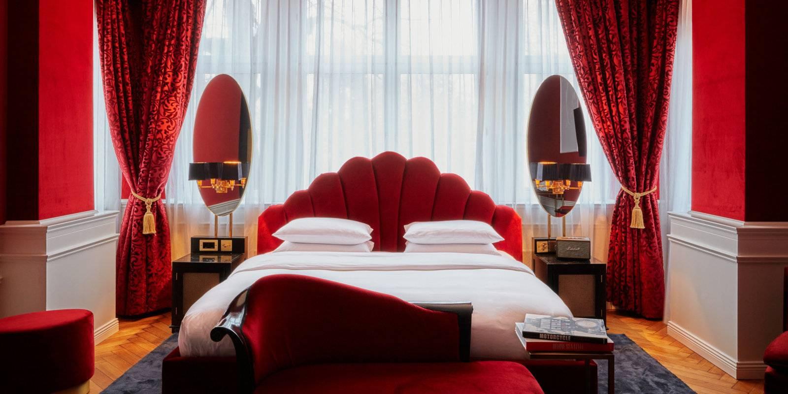 Le Provocateur Berlin est un hôtel très sexy qui propose également un ensemble de couples sexy et de nombreux détails érotiques.