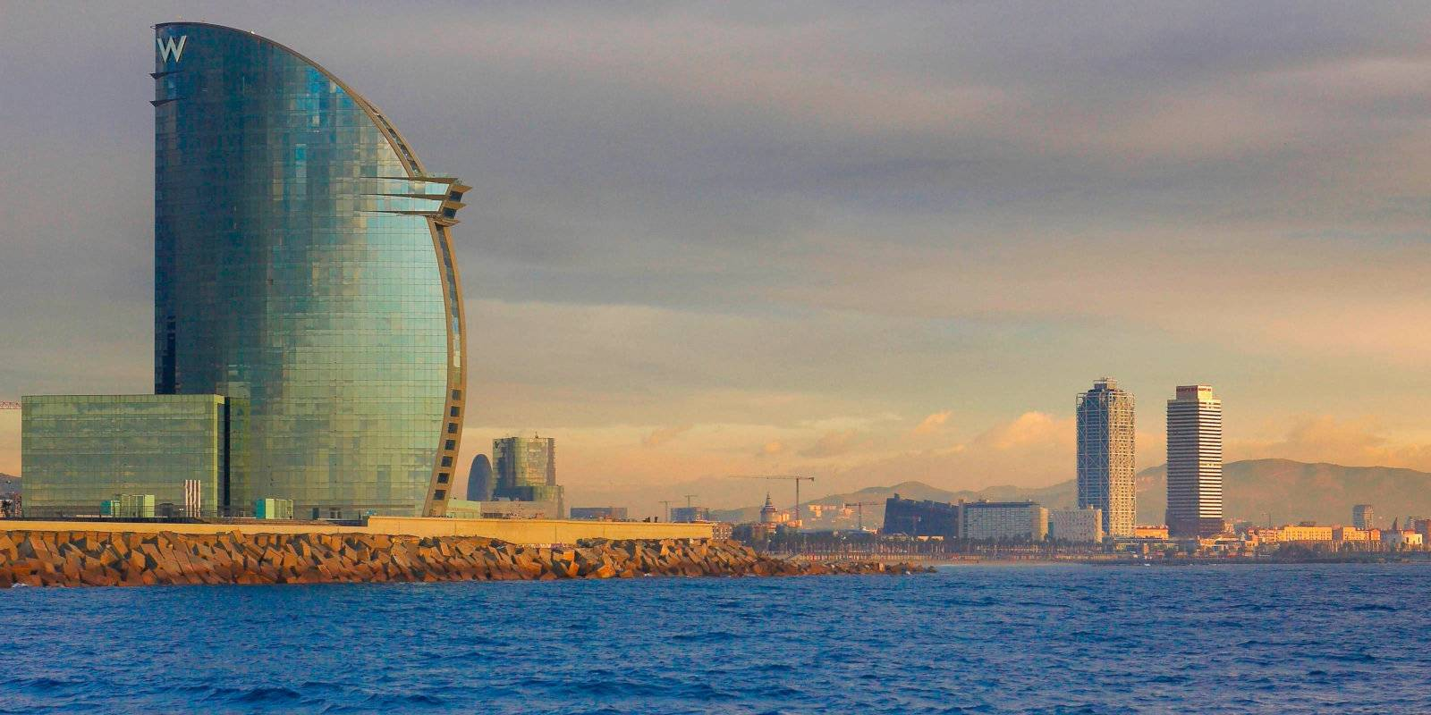 For an incredibly luxurious and gay friendly stay beside the sea, we can't recommend the stunning W Hotel Barcelona enough!