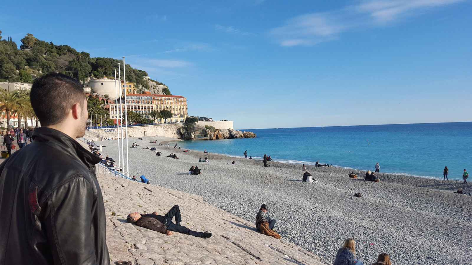 Nice has some of the best gay beaches in Europe