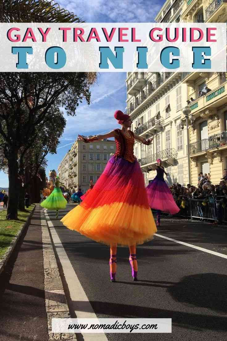 Our complete gay guide to Nice with all the best gay bars and clubs, gay friendly hotels, restaurants and more!