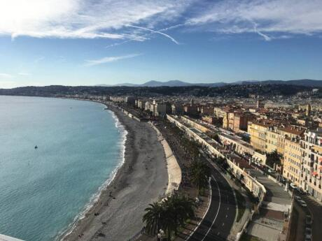 With over 7km of glorious beach views, a walk down Nice's Promenade des Anglais is a must while visiting the city
