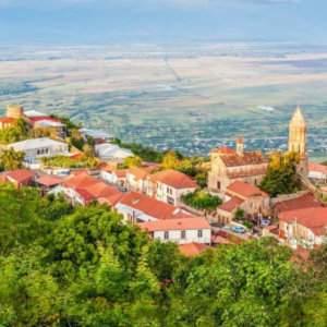 Participez à une excursion d'une journée dans la région de Kakheti au départ de Tbilissi pour déguster certains des meilleurs vins de Géorgie et explorer de beaux villages