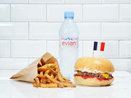 Our favourite place for a burger in Nice is King Marcel - the food is mouthwatering!