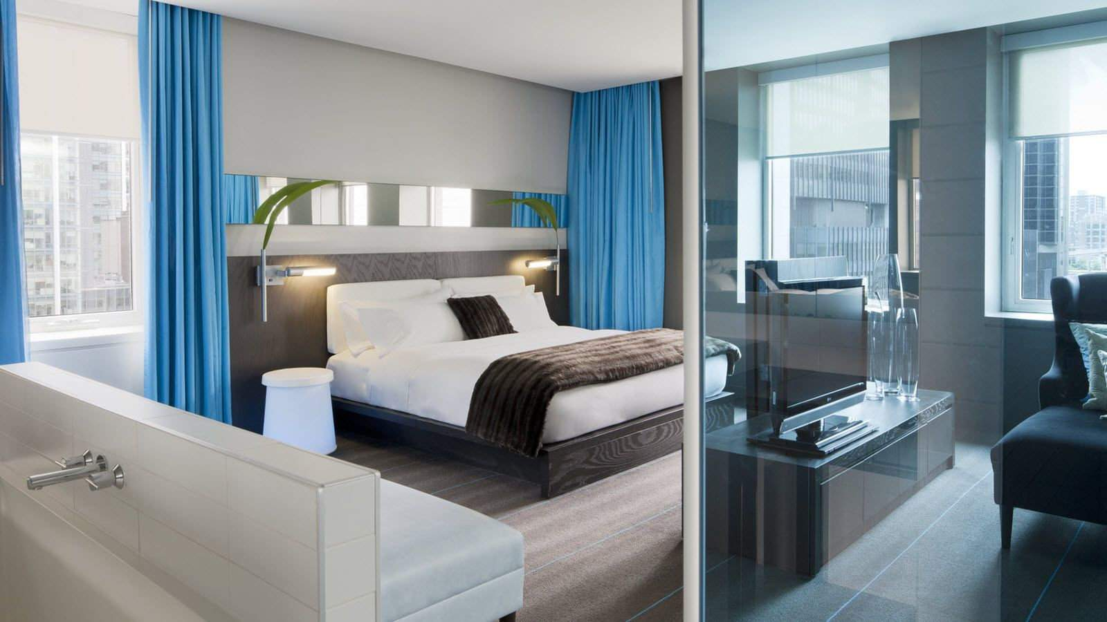 The W Hotel in Montreal is both pet friendly and gay friendly, as well as being very luxurious!