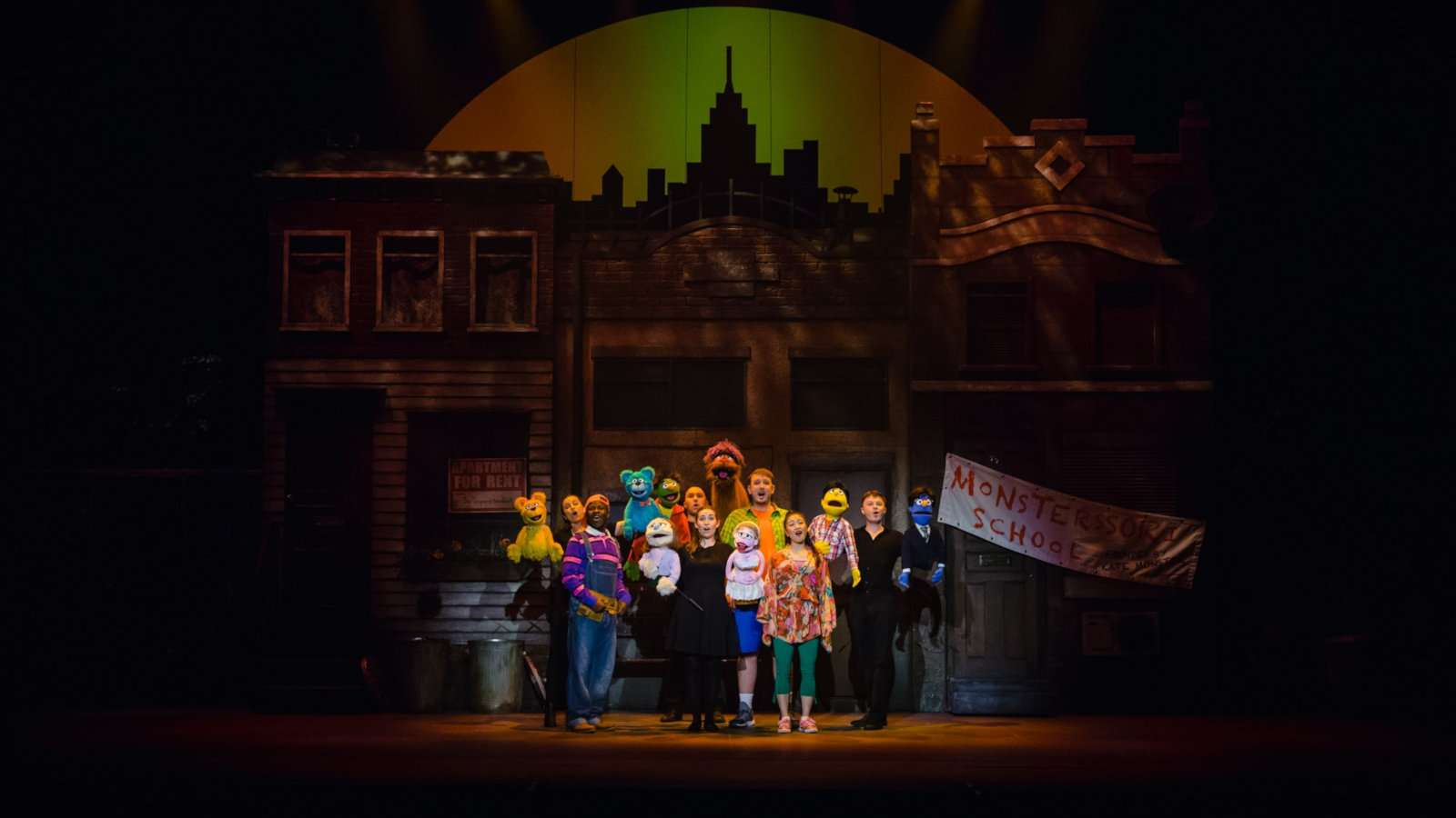 Avenue Q may look a little bit like Sesame Street but this show is NOT for kids!