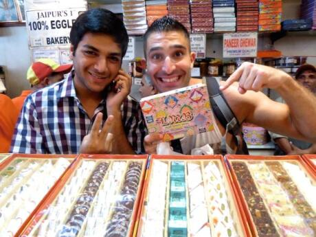 Make sure you try some barfi while you're in India if you like sweets!