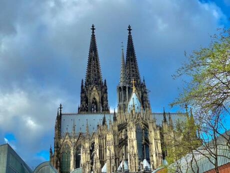 You can't miss Cologne Cathedral, and you shouldn't miss going inside to learn more about this impressive building
