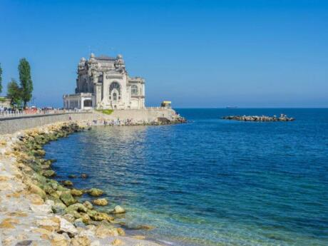 Constanta is a beautiful seaside town in Romania that's lovely if you want to work on your tan next to the Black Sea