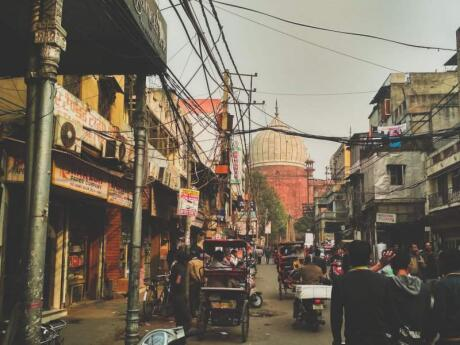 India's capital of Delhi is loud, noisy, smelly and absolutely worth visiting with some great gay hangouts