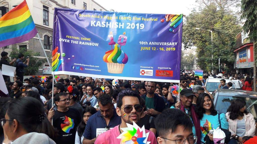 Mumbai is home to a wonderful gay Pride parade where you will probably see advertising for the (also) fabulous Khashish International Queer Film Festival