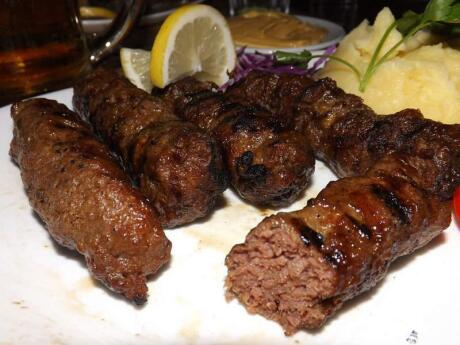 Mici is a delicious type of sausage from Romania that goes perfectly with some beers