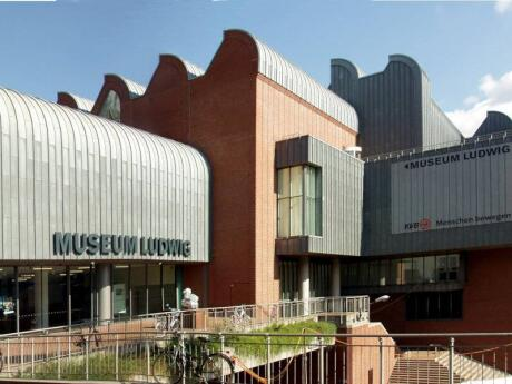 One of the most interesting art museums in Cologne (both inside and outside) is the Museum Ludwig