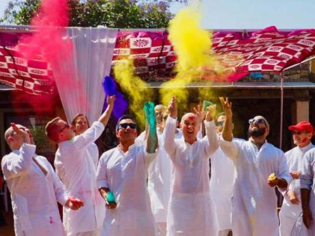 Out Adventures are a wonderful gay travel group that organise a fabulous trip to India to coincide with the colourful festival of Holi