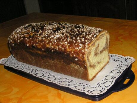 Cozonac is a delicious sweetbread from Romania that's perfect for a sweet snack