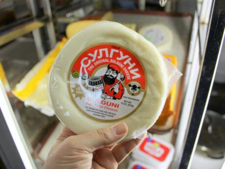 If you like rather sour and salty cheese then you'll want to try some of Georgia's yummy Sulguni cheese!