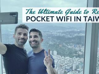 This is our complete guide on how to rent pocket WiFi in Taiwan including the best providers and more helpful tips