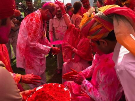 Zoom Vacations also offer a gay tour through India during Holi, which includes dinner with the royal family of Rajasthan!