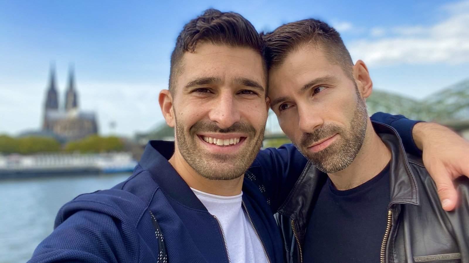Cologne est une ville merveilleusement gay-friendly où nous ne nous sentons jamais mal à l'aise ou timides à propos des PDA