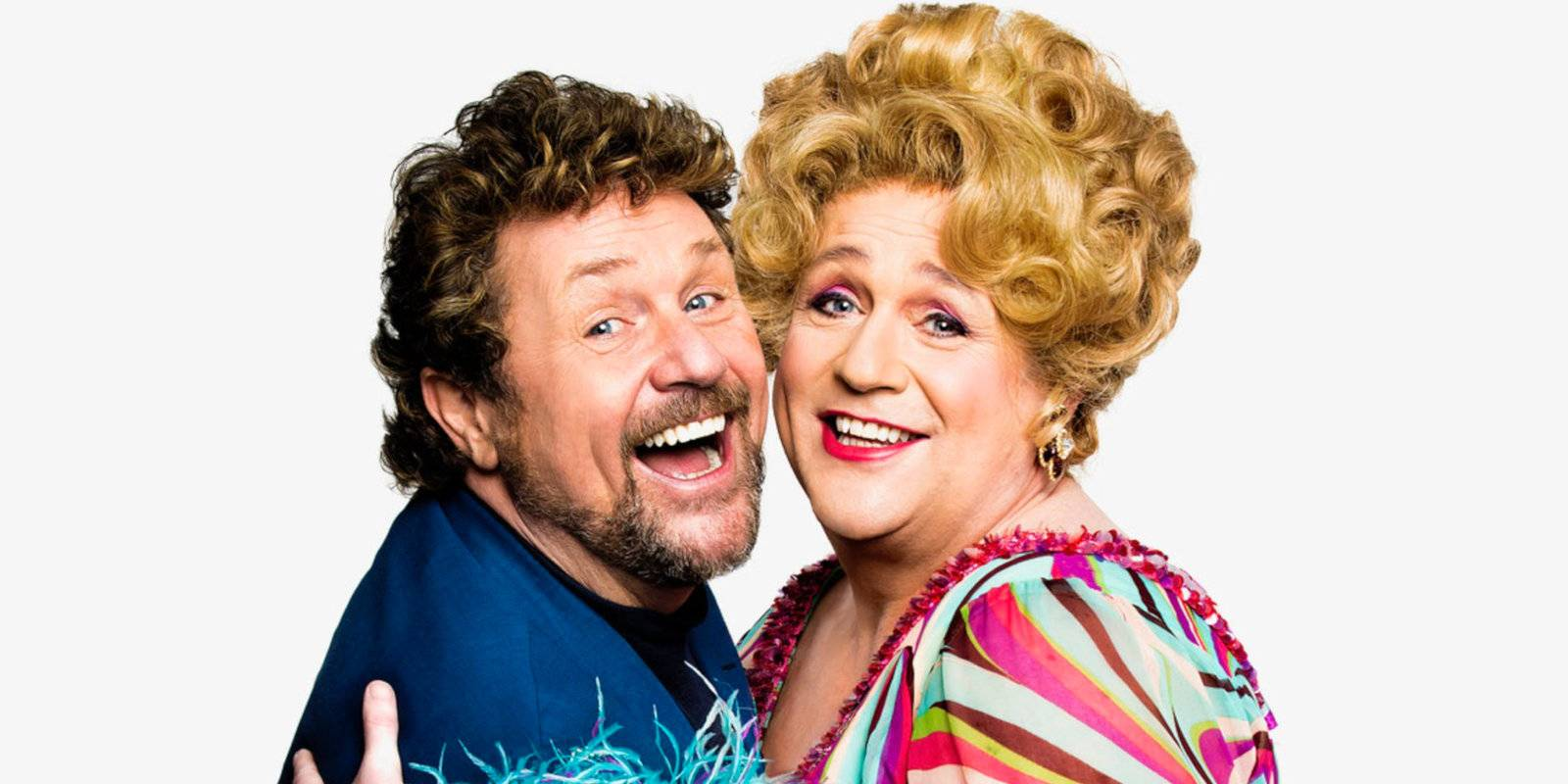 Hairspray is a fun, camp and feel-good musical - with Michael Ball cross-dressing!