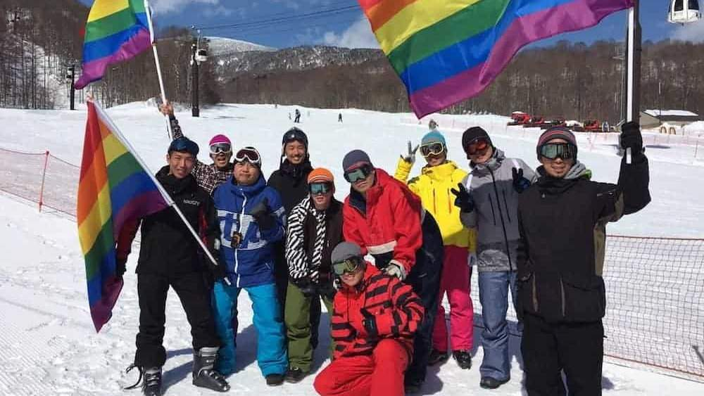 You can attend a fabulous gay ski weekend in Urabandai, just a couple of hours from Tokyo