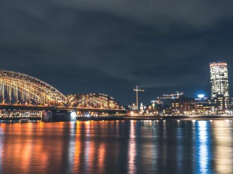 For a romantic day trip you can go for a cruise on the Rhine River from Cologne