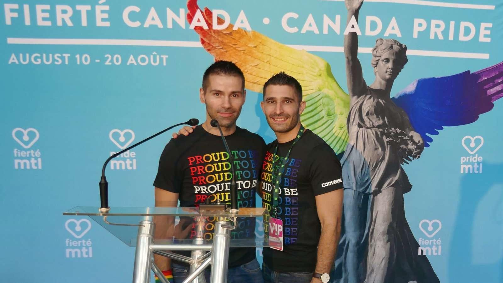 Fierte Canada Pride in Montreal