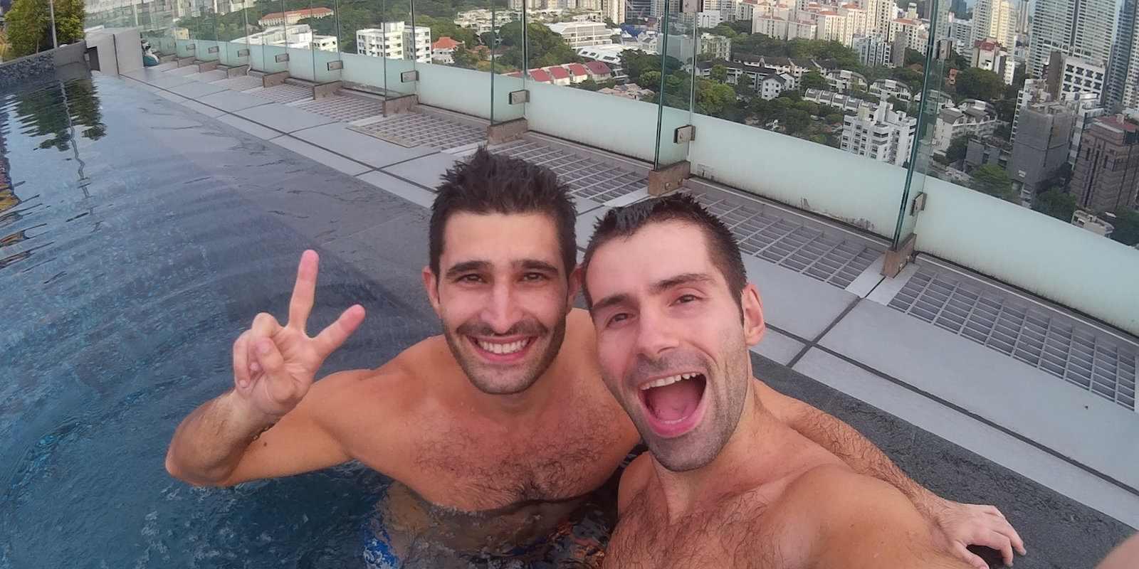 L'homosexualité à Singapour est illégale, mais nous n'avons eu aucun problème à visiter