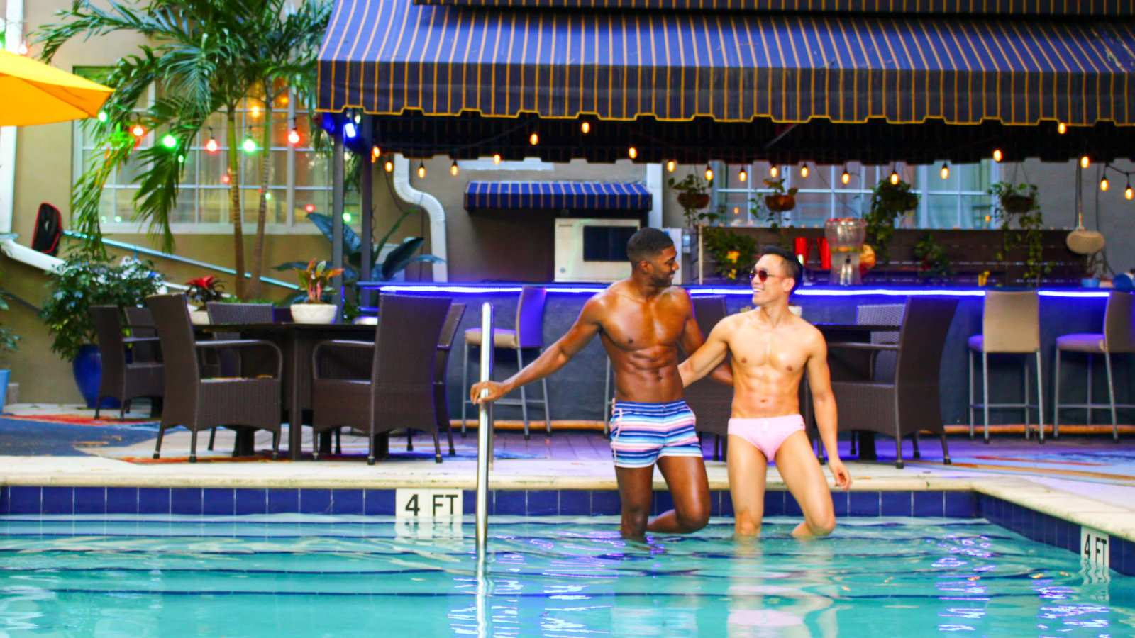 Miami Beach Pride hosts a fabulous pool party that is one of the most fun events during the whole fabulous week!