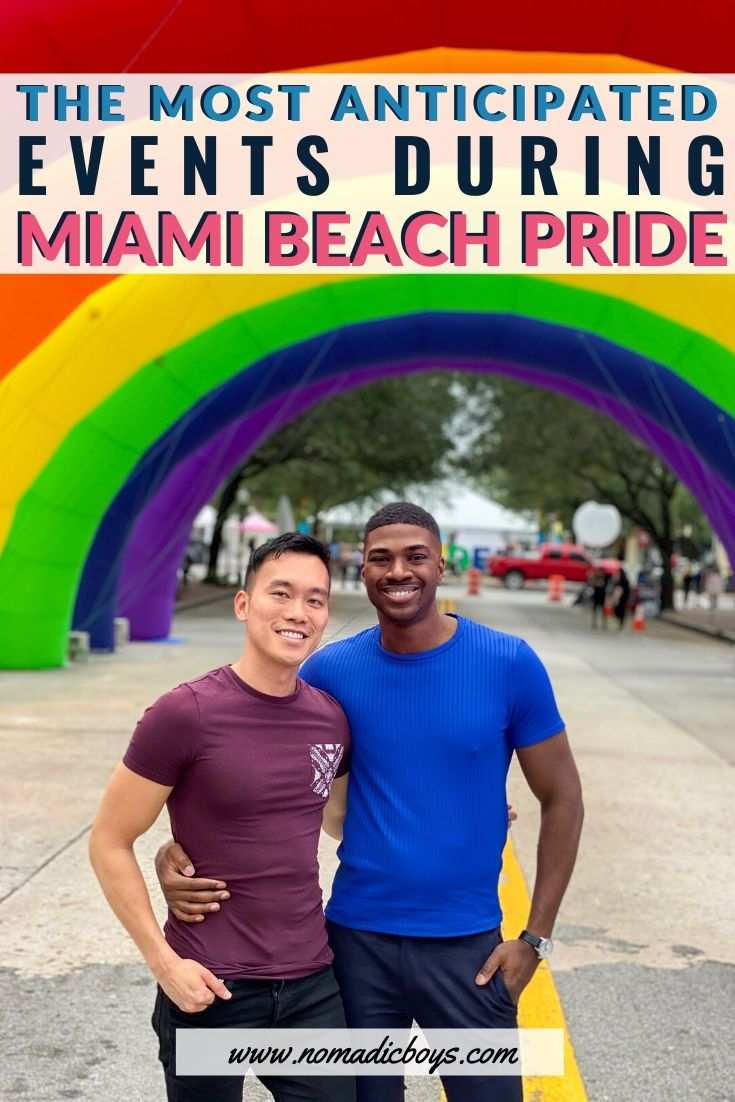 If you're heading to Miami Beach Pride these are the can't-miss events you need to experience!