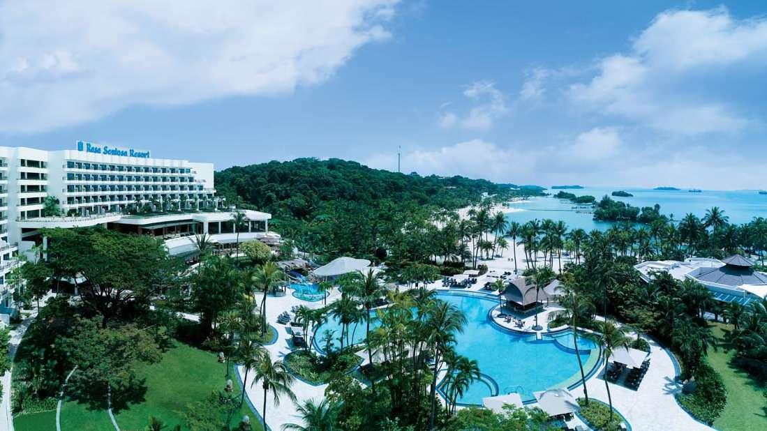 Le Shangri La & # 39; s Rasa Sentosa Resort and Spa à Singapour est un endroit luxueux pour les voyageurs gays qui aiment se faire dorloter, nager et bien dîner