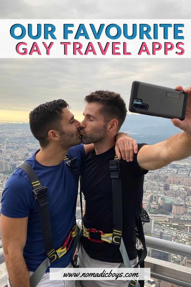 Check out our list of the must-have gay travel apps