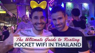 Our complete guide including everything you need to know about renting a pocket WiFi device in Thailand