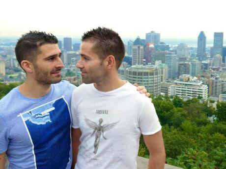 Gay guide Montreal Mont Royal viewpoint