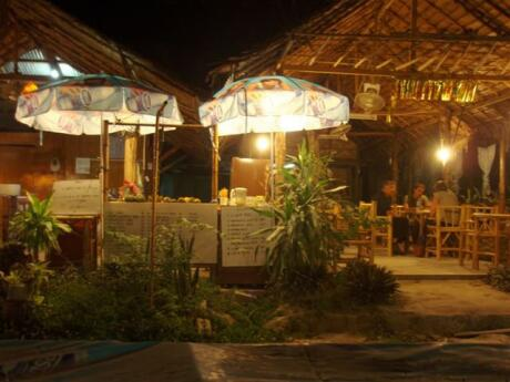 AROY Restaurant on Koh Lipe serves delicious Mexican cuisine in a cute little building that looks like a jungle hut