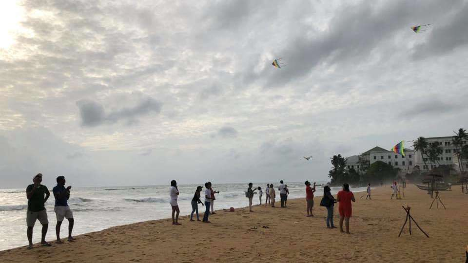 Colombo has an awesome series of Pride events including a kite-flying tournament as well as a music and dance queer festival!