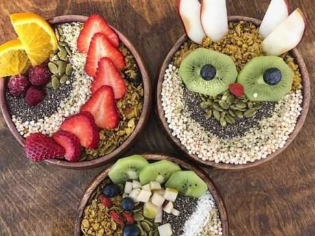 Crux Comptoir in Montreal makes the most epic smoothie bowls as well as many other healthy and delicious treats
