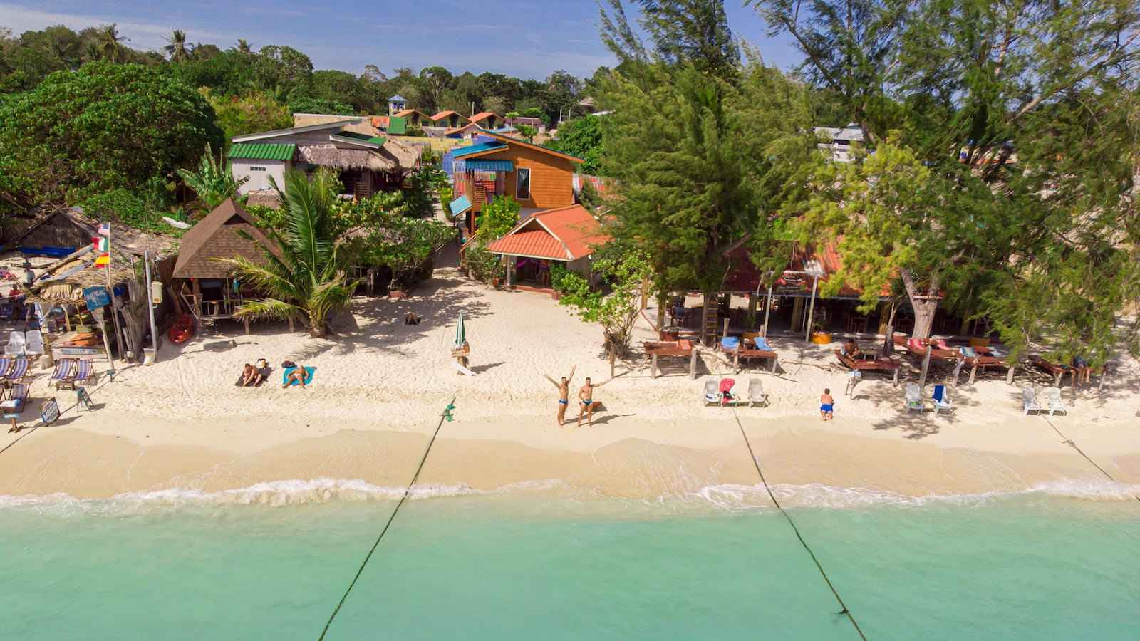 The gay owned Gispy Resort on Koh Lipe has options for all budgets