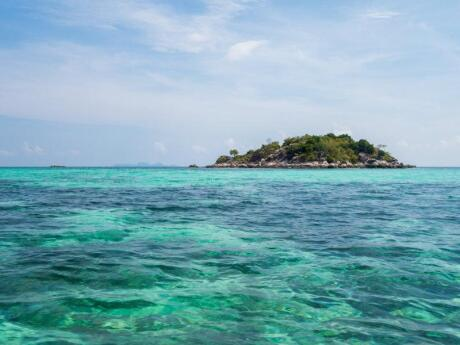 Renting a kayak is a lovely way to explore the waters and small islands surround Koh Lipe