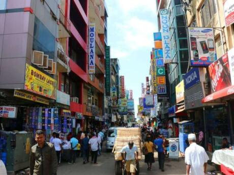 The Pettah neighbourhood of Colombo is filled with shops, markets and busy people - a great spot to experience local life!