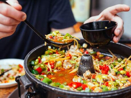 To learn about Singapore's multicultural heritage you can join a delicious food tour through three main neighbourhoods