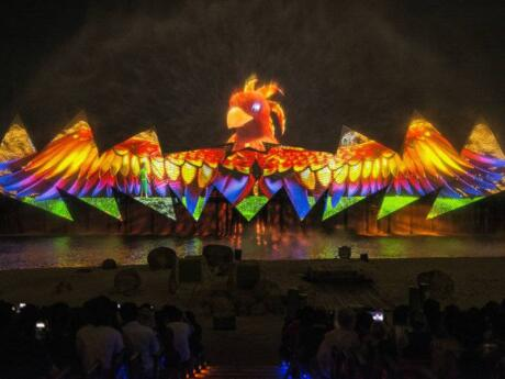 The Wings of Time show on Singapore's Sentosa Island is a dazzling spectacle not to be missed!