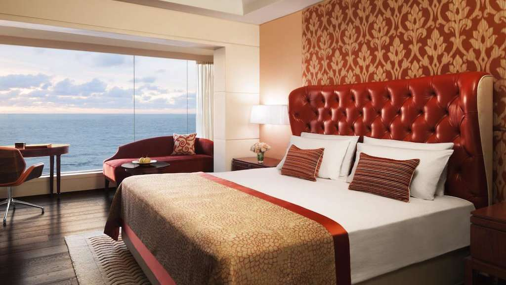 The Taj Samudra Hotel in Colombo is ultra-luxurious and gay friendly, with stunning views over the ocean