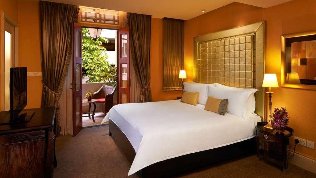 Le Scarlet Singapore est un impressionnant hôtel de charme dans le quartier chinois qui offre un luxe opulent à des prix raisonnables.