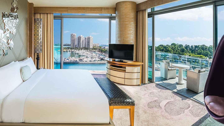 L'hôtel W à Singapour est ultra luxueux et totalement gay friendly