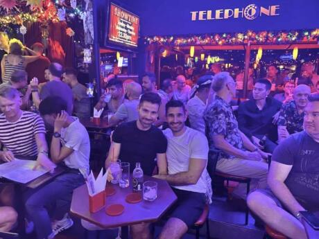 Telephone is one of the oldest and best gay bars in Bangkok's gay neighbourhood
