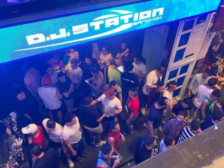 DJ Station is one of the best gay clubs in Bangkok's gay area for getting down and dancing the night away