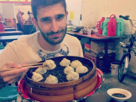 We tried some of the best dumplings in Asia in the De Fa Chang restaurant in Xi'an