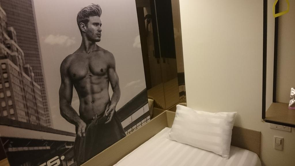Gs is the only exclusively gay hotel in Taipei with lots of erotic art throughout and a lax clothing policy!