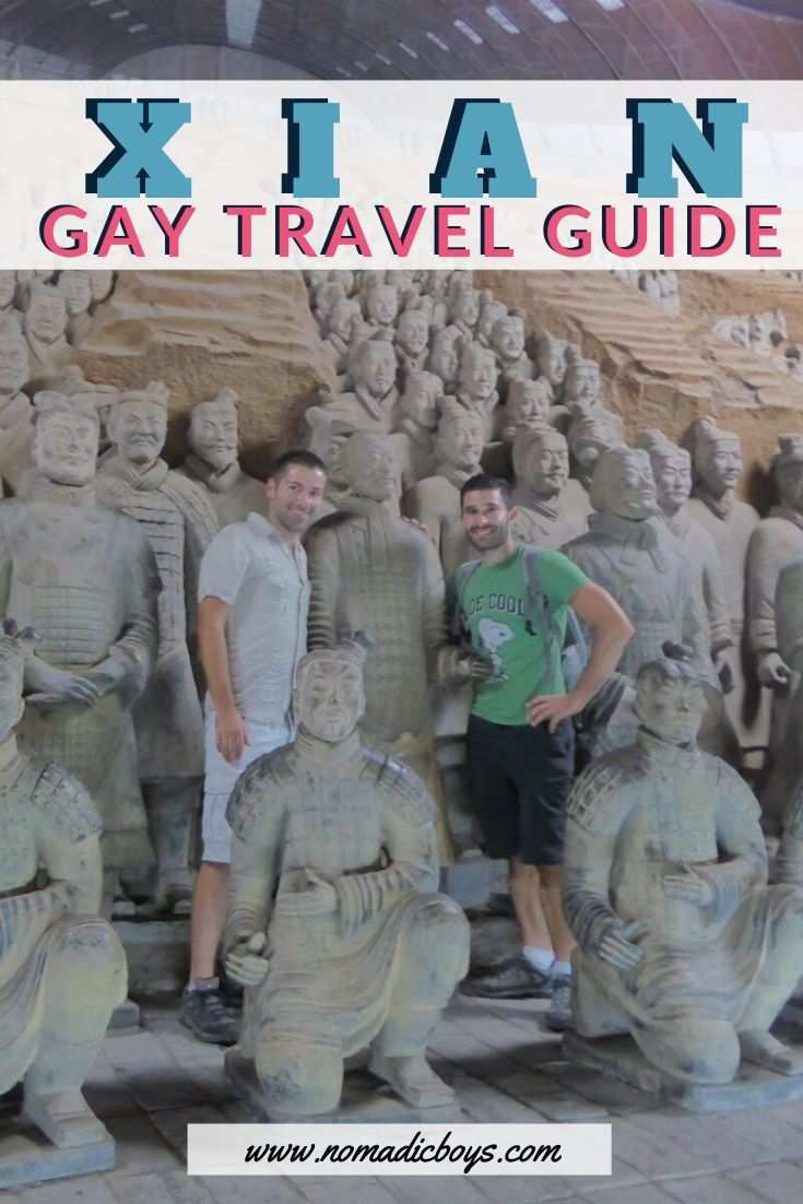 Read our gay guide to the city of Xi'an in China, the base for visiting the famous Terracotta Army